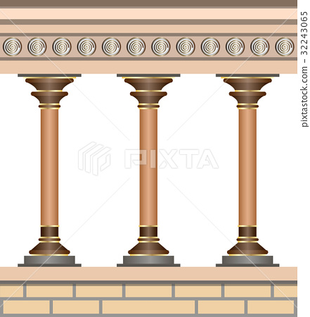 Knossos Palace. Architecture in minoan style 32243065