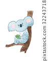 koala, bear, cartoon 32243718