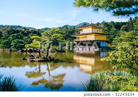 Kinkakuji Temple, Luyuan Temple, Japanese Temple, Rokuon-ji, Japanese temples 32243834