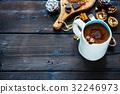 Winter hot chocolate 32246973