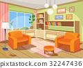 room interior vector 32247436