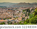 Spain, Andalusia Region, Granada town panorama  32248304