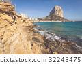 Famous Mediterranean Resort Calpe in Spain 32248475