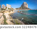 Famous Mediterranean Resort Calpe in Spain 32248476