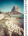 Famous Mediterranean Resort Calpe in Spain 32248479