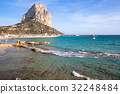 Famous Mediterranean Resort Calpe in Spain 32248484