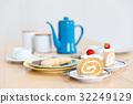 休息時間 工間喝咖啡休息時間 蛋糕 32249129
