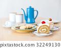 休息時間 工間喝咖啡休息時間 蛋糕 32249130