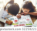 Coloring Book Education Talent Concept 32258221
