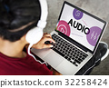 Music Streaming Media Entertainment Equalizer 32258424