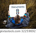 Paper Clip Mail File Attachment Graphic 32259692