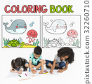 Coloring Book Education Talent Concept 32260710