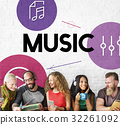 Music Streaming Media Entertainment Equalizer 32261092