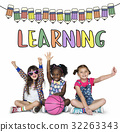 Back To School Education Study Graphic 32263343