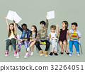 Group of students educated child development 32264051