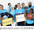 diversity, donation, box 32264646