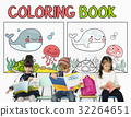Coloring Book Education Talent Concept 32264651