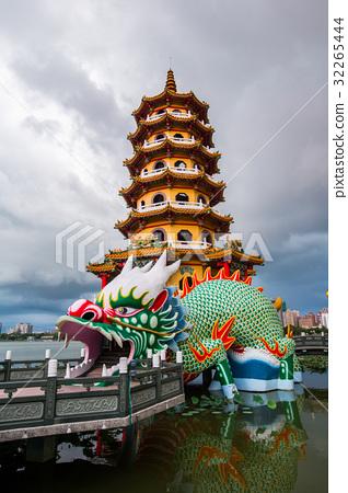 台灣高雄左營蓮池潭Asia Taiwan Kaohsiung Lake 32265444