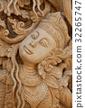Thai style wood carving 32265747