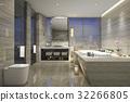 bathroom bathtub interior 32266805