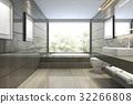 bathroom bathtub interior 32266808