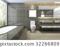 bathroom bathtub interior 32266809