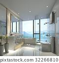 衛生間 浴室 浴缸 32266810