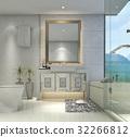 bathroom bathtub interior 32266812
