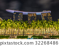 Singapore landmark city skyline at the Marina bay  32268486