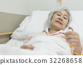 be hospitalized, senior, nurse call 32268658