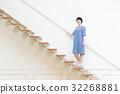 成熟的女人 一個年輕成年女性 女生 32268881