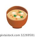 Nanpo miso soup 32269581