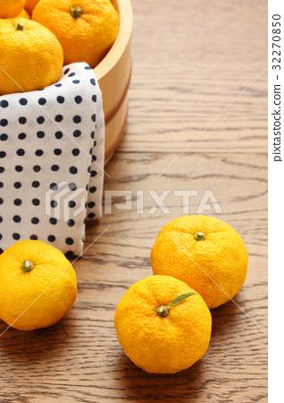 柚子(小柑橘類水果) 柚子 檸檬 32270850