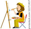 จิตรกร,ผู้ชาย,ชาย 32271937