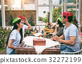 Party Celebrate Meeting of Friends in Holiday 32272199