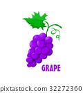 Logo Grape vector farm design 32272360