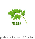 Logo Parsley vector farm design 32272363