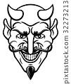 Devil Sports Mascot 32273213