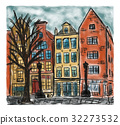 European house style painting 32273532
