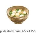 miso, soup, food 32274355