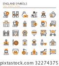 England Symbols  32274375