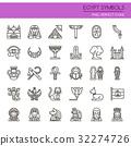 Egypt Symbols  32274726