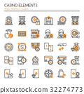 Casino Elements   32274773