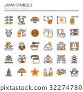 Japan Symbols   32274780