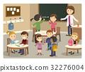 school, classroom, vector 32276004