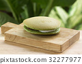 Green Tea Dorayaki Pan cake 32277977