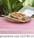 Japanese food Tako Yaki on Box 32278113