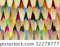 Wooden crayons as background picture. 32278777