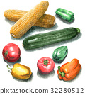 vegetables, vegetable, foodstuff 32280512