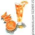 橘子汁 橙汁 果汁 32280515